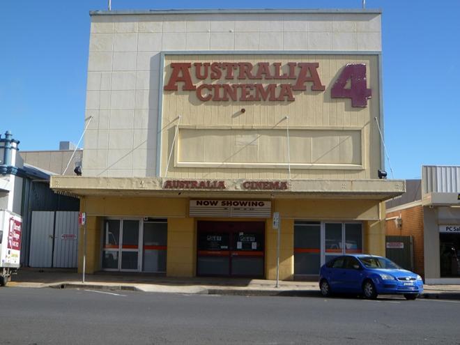 The Australian Hall now Theatre in Kite Streeet, Orange, July 20