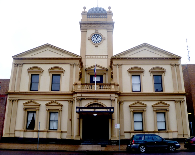 Maitland Town Hall July 2016.