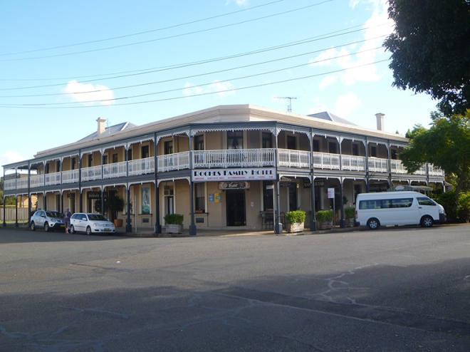 Roche's Hotel Grafton where Melba and her concert party stayed i